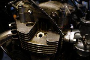 カワサキ 650RS W3のオイル漏れ修理