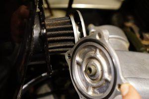 メグロK2 オイル交換&オイル漏れ修理