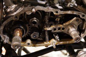 メグロS2 オイル漏れ&クラッチ修理