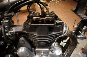 イギリス製 ロイヤルエンフィールド ModelG メンテナンス
