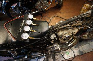 TX650 アイドリング不調&バックファイア修理