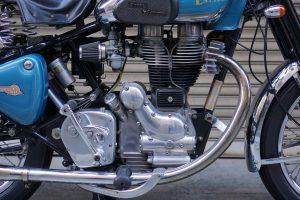 ロイヤルエンフィールド 旧型BULLET 535cc左シフト