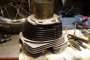 ロイヤルエンフィールド エンジン修理リベンジ