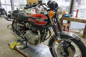 650RS W3 エンジン修理