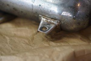 W1S マフラー修理