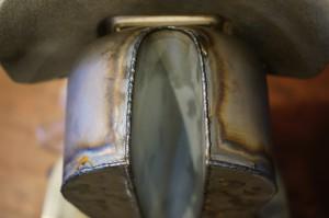 ロイヤルエンフィールド チョッパー製作4 タンク加工