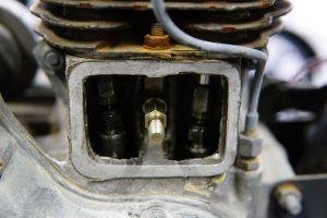 ロイヤルエンフィールド 旧型BULLETの車検整備