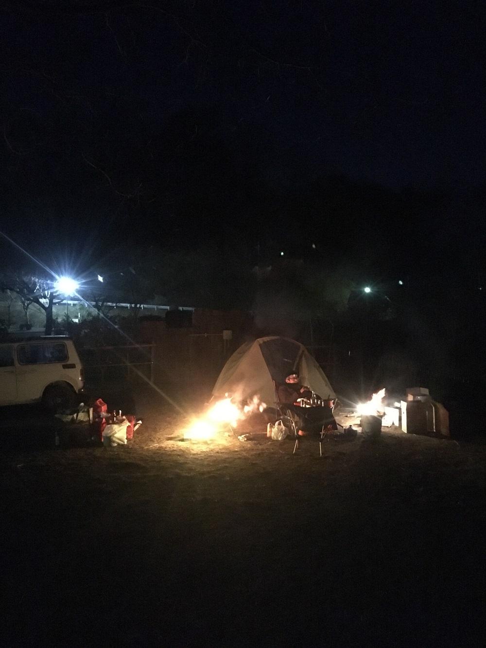 冬のキャンプも楽しいぞ