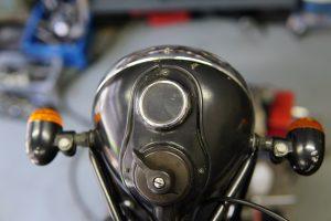ビンテージバイクの整備いろいろ