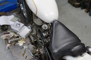本日の作業 モトガジェットメーター取り付け&G2フェンダー取り付け&タイヤ交換