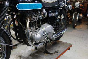 カワサキ W1SA ガソリン漏れの修理