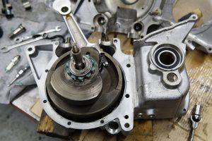 トライアンフ T140 エンジン修理オーバーホール4