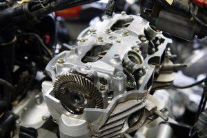 カワサキ W650のエンジンボアアップ 組み立て編