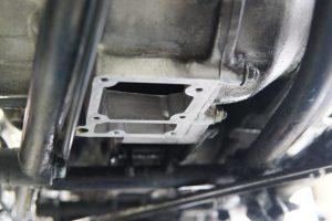 カワサキW1スペシャル オイル交換とパンク修理