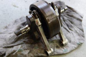 トライアンフ6Tの別体エンジン修理