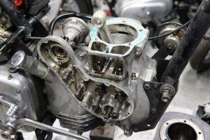 ロイヤルエンフィールドのエンジンオーバーホール