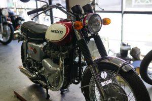 カワサキW1のエンジン不調修理